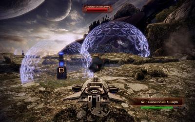 Screen ze hry Mass Effect 2: Overlord
