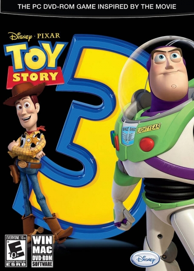 Obal hry Toy Story 3