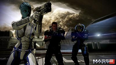 Artwork ke hře Mass Effect 2: Lair of the Shadow Broker