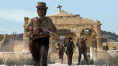 Screen ze hry Red Dead Redemption: Outlaws To The End