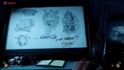 Screen ze hry BioShock Infinite