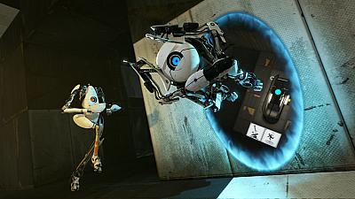 Screen ze hry Portal 2