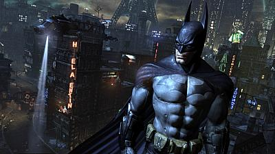 Screen ze hry Batman: Arkham City