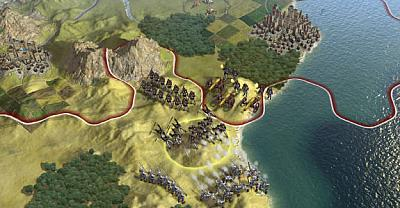 Screen ze hry Civilization V