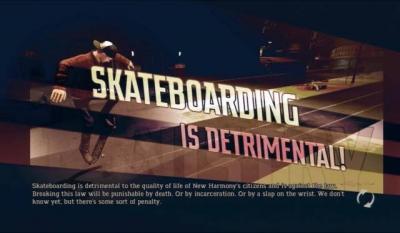 Screen ze hry Shaun White Skateboarding