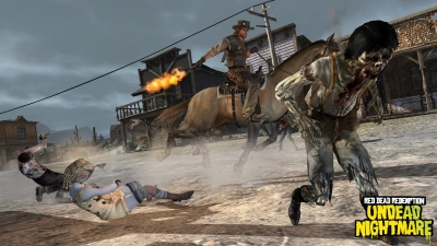 Screen ze hry Red Dead Redemption: Undead Nightmare