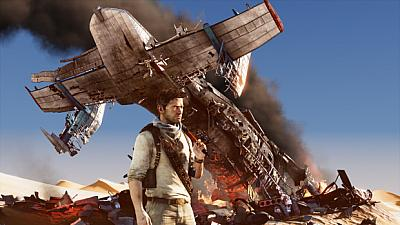 Artwork ke hře Uncharted 3: Drake´s Deception