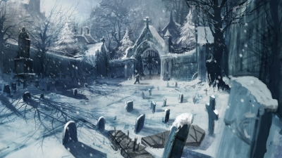 Artwork ke hře Castlevania: Lords of Shadow