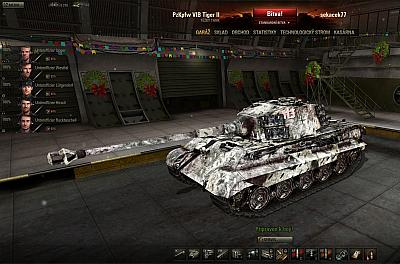 Screen ze hry World of Tanks