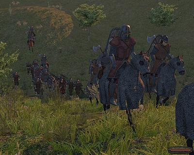 Screen ze hry Mount & Blade: Warband