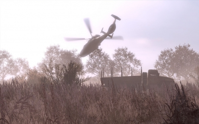 Screen ze hry ArmA II: Private Military Company
