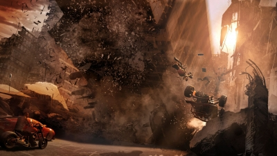 Artwork ke hře MotorStorm: Apocalypse