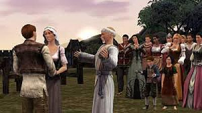 Screen ze hry The Sims Medieval