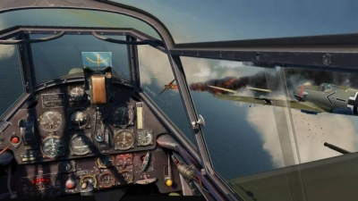 Artwork ke hře IL-2 Sturmovik: Cliffs of Dover