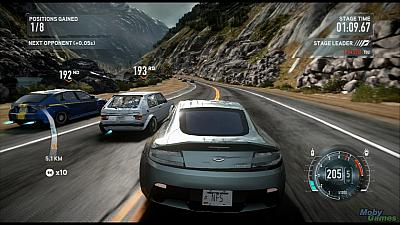 Screen ze hry Need for Speed: The Run
