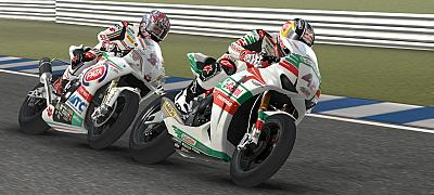 Screen ze hry SBK 2011