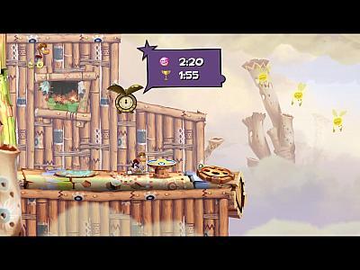 Screen ze hry Rayman Origins