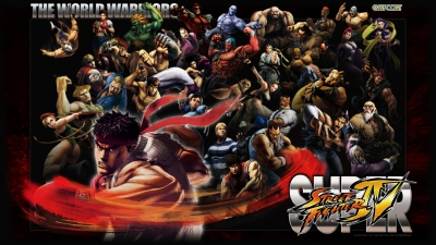 Artwork ke hře Super Street Fighter IV