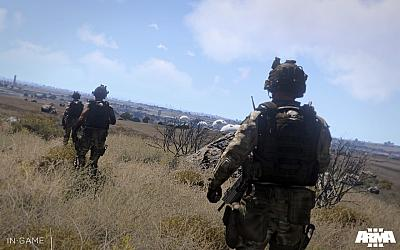 Screen ze hry Arma 3