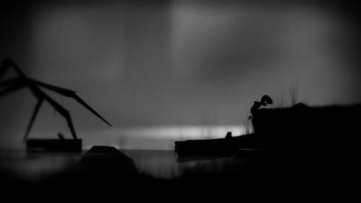 Screen ze hry LIMBO