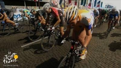 Screen ze hry Tour de France 2011