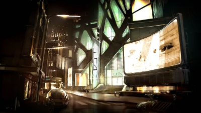 Artwork ke hře Deus Ex: Human Revolution
