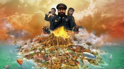 Artwork ke hře Tropico 4