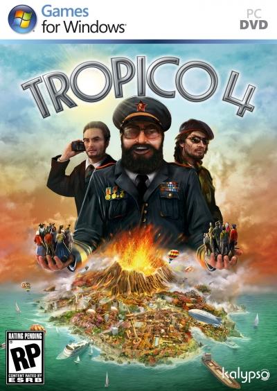 Obal hry Tropico 4