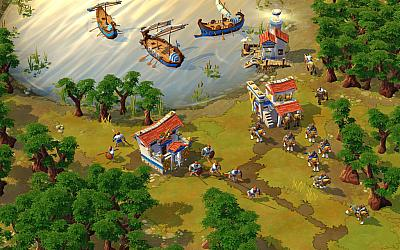 Screen ze hry Age of Empires Online