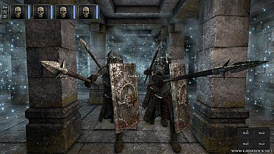 Screen ze hry Legend of Grimrock
