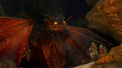 Screen ze hry Lord of the Rings: War in the North, The