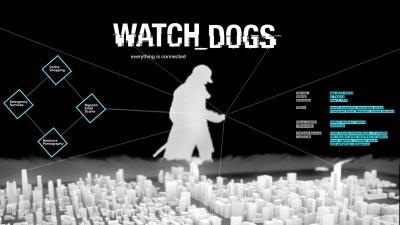 Artwork ke hře Watch Dogs