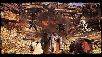 Screen ze hry Call Of Juarez: Gunslinger