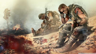 Artwork ke hře Spec Ops: The Line