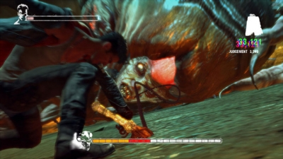 Screen ze hry DMC - Devil May Cry