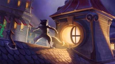 Artwork ke hře Sly Cooper: Thieves in Time
