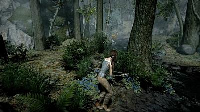 Screen ze hry Tomb Raider 2013