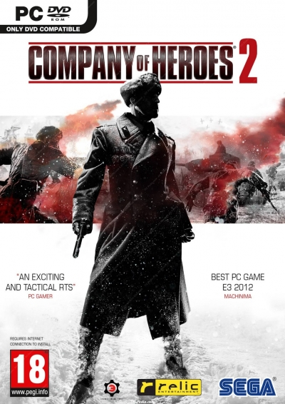 Obal hry Company of Heroes 2
