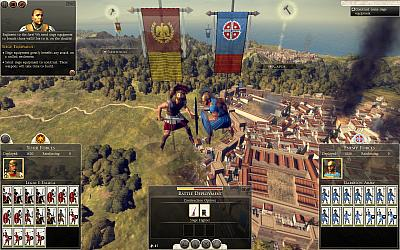 Screen ze hry Total War: Rome II