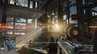Screen ze hry Battlefield 4