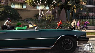 Screen ze hry Grand Theft Auto V