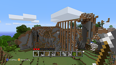 Screen ze hry Minecraft
