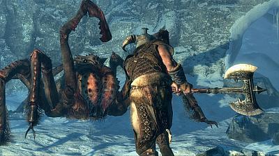 Screen ze hry Elder Scrolls V: Skyrim