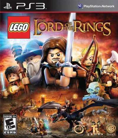 Obal hry LEGO The Lord of the Rings