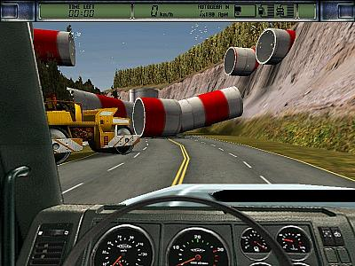 Screen ze hry Euro Truck Simulator 2
