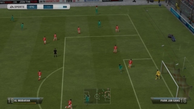 Screen ze hry FIFA 13