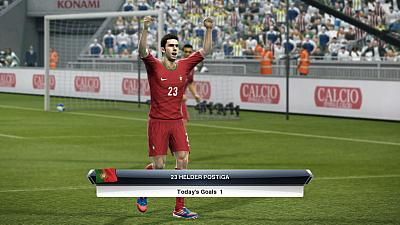 Screen ze hry Pro Evolution Soccer 2013