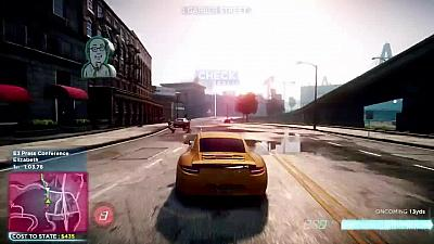 Screen ze hry Need for Speed: Most Wanted (2012)