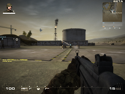 Screen ze hry Battlefield Play4Free