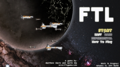 Screen ze hry FTL: Faster Than Light